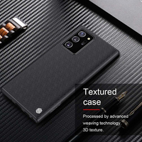 For Samsung Note 20 NILLKIN-funda trasera de fibra de nailon texturizada para Samsung Galaxy Note 20 Ultra 5G, funda duradera antideslizante