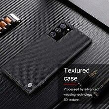 NILLKIN – coque arrière en fibre de nylon pour Samsung Galaxy Note 20 Ultra 5G, étui de téléphone durable et antidérapant