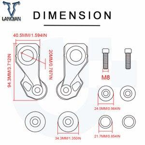 Image 5 - עבור הונדה CB650R Neo ספורט 2019 Motorcycl אביזרי מנוע CNC אלומיניום גלגל אחורי סרן Stand להרים סט כותנה סלילים