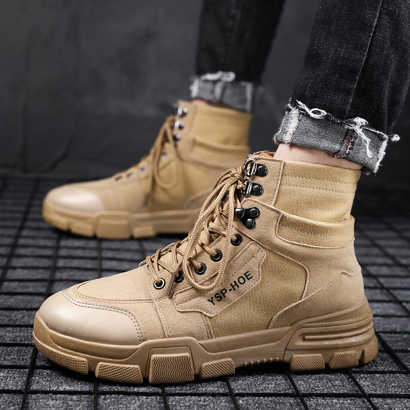 YRRFUOT Men Fashion Shoes Lace up Trend New Man Fashion Sneaker Vulcanized  Shoes Zapatillas Hombre