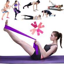 Женщины Мужчины Йога Диапазоны Сопротивления Упражнение Устанавливает Фитнес-Тренировки Растяжения Эластичной Петлей За Ноги Ремнями Терапии