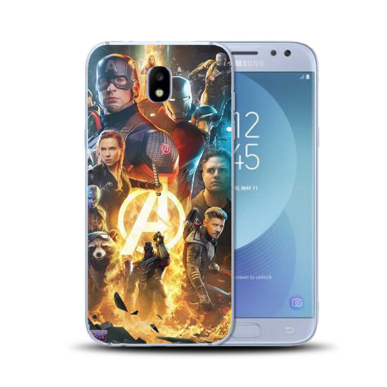 Superman Capitano per Samsung Galaxy A7 2018 A10 A20 A40 A50 A70 A6 A8 A5 Nota 8 9 10 M10 m20 Della Copertura Della Cassa Del Telefono Della Copertura Fonda Capa