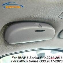 Xburstcar-caja de almacenamiento para gafas de coche, soporte para gafas de sol, funda para BMW serie 5, GT 520, 523, 525, F10, G30, 2009-2013, accesorios