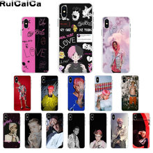 RuiCaiCa Hip Hop Rapper Lil Peep Patroon TPU Soft Telefoon Mobiele Telefoon Case voor iPhone 8 7 6 6S plus X XS MAX 5 5S SE XR 11 11pro(China)