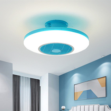 50cm Ceiling Fan with Light Remotre Control 110v 220v Children Bedroom Home Restaurant Fan Lamp 40w 3 Colors Changing Fan Lamp