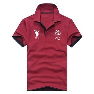 Image 3 - قميص بولو الرجال عالية الجودة الرجال القطن قصير الأكمام الصيف قميص ماركة الفانيلة Polos بولو أوم Lncrease حجم الرجال الملابس