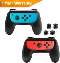 Rocketek 2 PCS For Nntend Switch Joystick Grip Handle Joypad Stand Holder Left Right Joy Con NS Joycon Controller