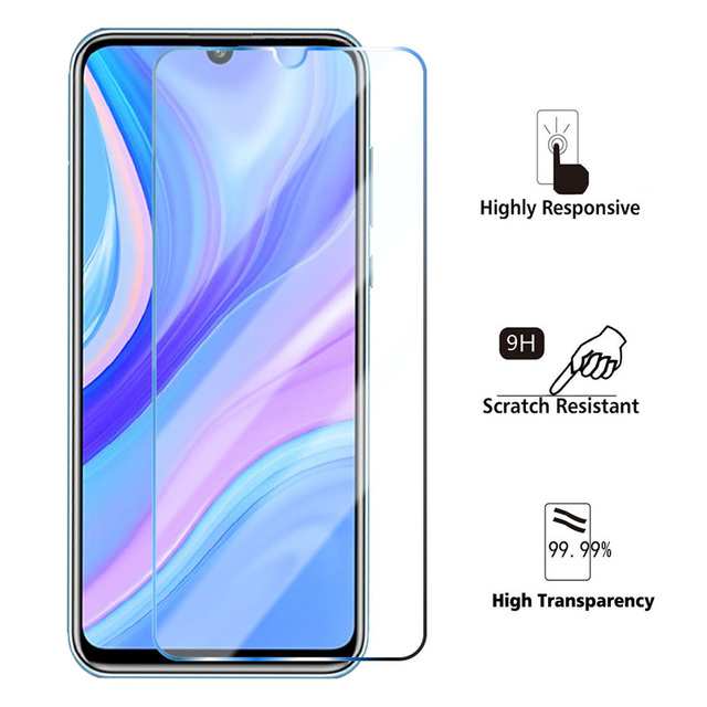 3PCS Tempered Glass on Huawei P Smart 2021 P Smart Z S 2019 Screen Protector Glass for Huawei P30 Lite P40 Lite P20 Pro Glass 4