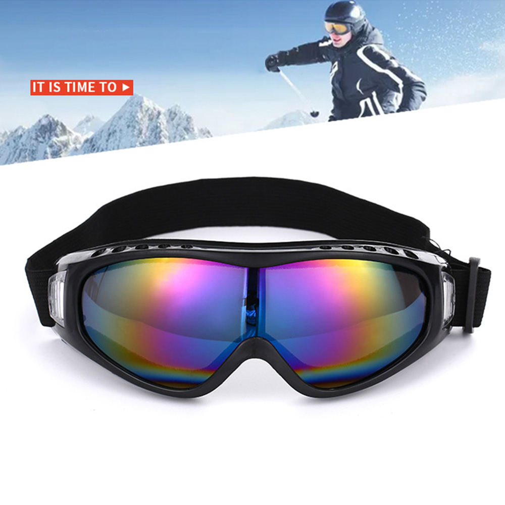 Outdoor Sports Polarized Ski Goggles Anti-UV Sunglasses Eyewear Windproof Equipment For Men Women Ski Eyewear Snowboard Goggles