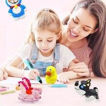 3D Printing Pen DIY PLA Filament Creative Toy Gift For Kids Design Drawing 3D Printer Pen Drawing Parent Child Activities