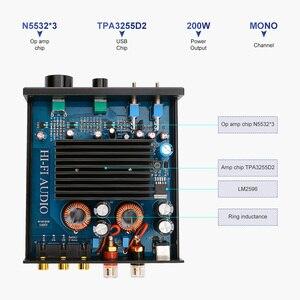 Image 4 - AIYIMA Amplificador de Subwoofer TPA3255, 300W, amplificador de potencia Digital HIFI Mono, Clase D, sonido para el hogar, Versterker NE5532 OP AMP