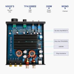Image 4 - AIYIMA TPA3255 усилитель сабвуфера 300 Вт цифровые HIFI моно усилители мощности класс D домашний звук аудио Versterker NE5532 OP AMP