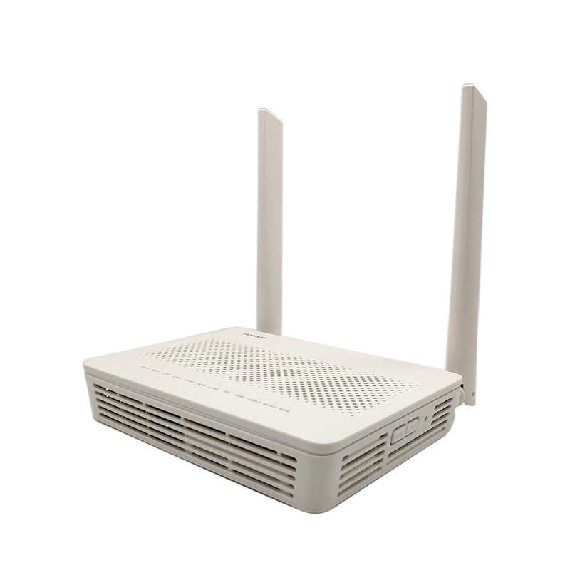 NEW <font><b>HUAWEI</b></font> EG8145v5 GPON <font><b>ONU</b></font> 4GE WLAN+USB+TEL AND 2.4G&5G <font><b>WIFI</b></font> 5DB External Antenna Epon ONT Optical Network Equipment Router image