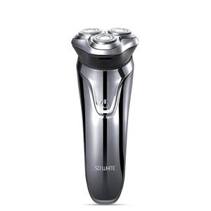 Image 1 - SOOCAS SO WHITE ES3 Electric Shaver Razor Shaving Machine LED Digital Display Rechargeable 3D Trimmer Beard For Men