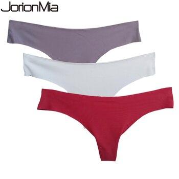 Ice Silk Thong Panties Sexy Briefs Seamless Thongs