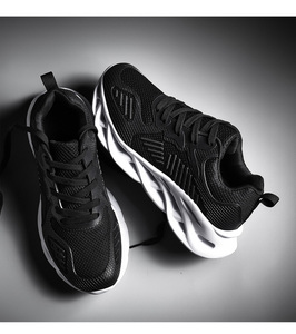 Image 5 - Industry Ventilation Hollow Hot Sale Gym Women Shoe Men Casual Teenagers Tenis Masculino Adulto Male Sneakers Air Mesh Loafers