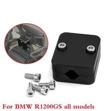 """אופנוע שחור טלפון GPS ניווט מחזיק הר Bracket עבור BMW R1200GS LC עו""""ד R1250GS S1000XR CRF1000L"""