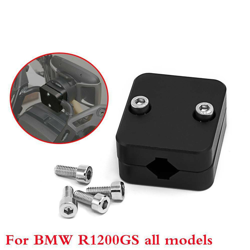 Motorcycle Black Phone GPS Navigation Holder Mount Bracket for BMW R1200GS LC ADV R1250GS S1000XR CRF1000L-in Covers & Ornamental Mouldings from Automobiles & Motorcycles