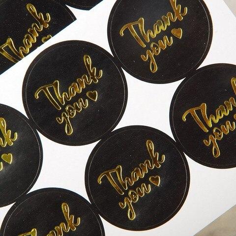 coracao selo etiquetas ouro negocio embalagem etiqueta de papelaria adesivo