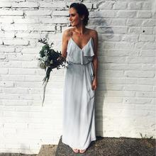 2019 Sexy Women Bridesmaid Dresses Vestido De Fiesta Para Boda Wedding Guest Dress Formal Party Dress