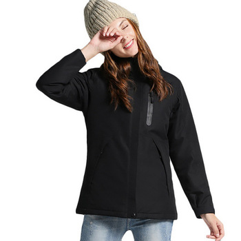 Usb χειμερινά θερμαινόμενα jacket αδιάβροχα για άνδρες και γυναίκες