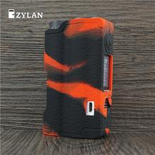 ZYLAN Cover Case Skin For Dovpo Topside 90w Squonk Box Mod Protective Silicone Sleeve Shield Wrap