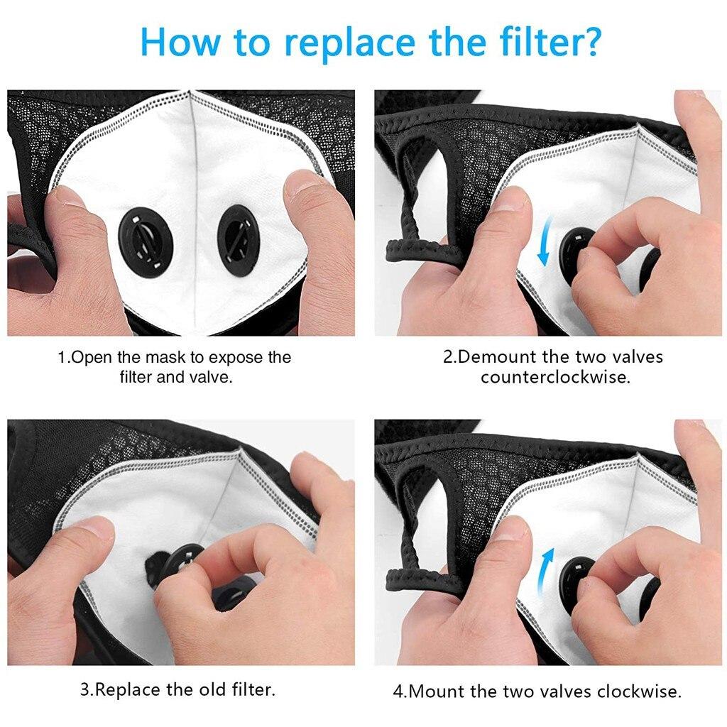 Hoe verwissel je het filter van je mondkapje