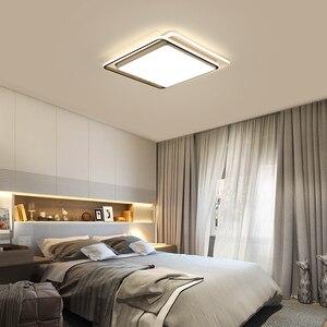 Image 4 - מודרני תקרת אורות מנורת תקרת שחור לבן זהב אהיל באיכות גבוהה תקרת מנורות עבור אוכל חדר שינה משטח רכוב