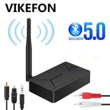 Bluetooth 5.0 transmissor de áudio 3.5mm 3.5 aux jack rca usb coaxial adaptador sem fio estéreo óptico dongle para tv pc fone de ouvido