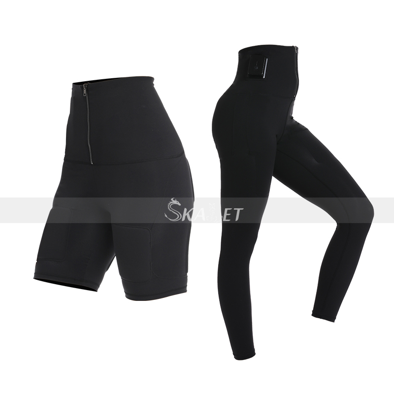 Top Quality! Exercise Suit Fitness Wireless EMS Slimming Body Muscle Stimulation Training Suit