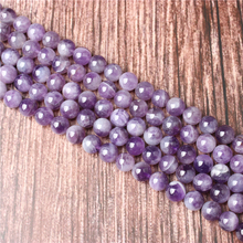 Hot Sale Natural Stone Dream Amethyst Beads 15.5 Pick Size: 4 6 8 10 mm fit Diy Charms Beads Jewelry Making Accessories