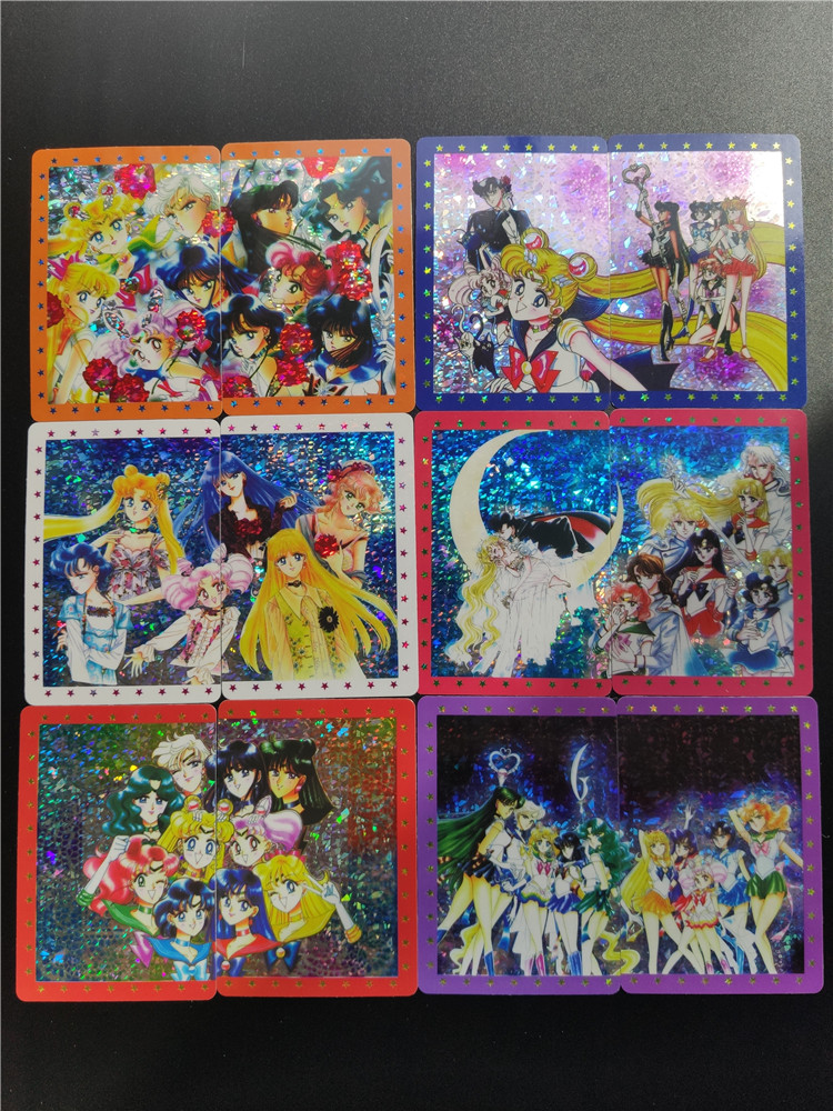 20pcs/set Sailor Moon No Original Pasteable Toys Hobbies Hobby Collectibles Game Collection Anime Cards