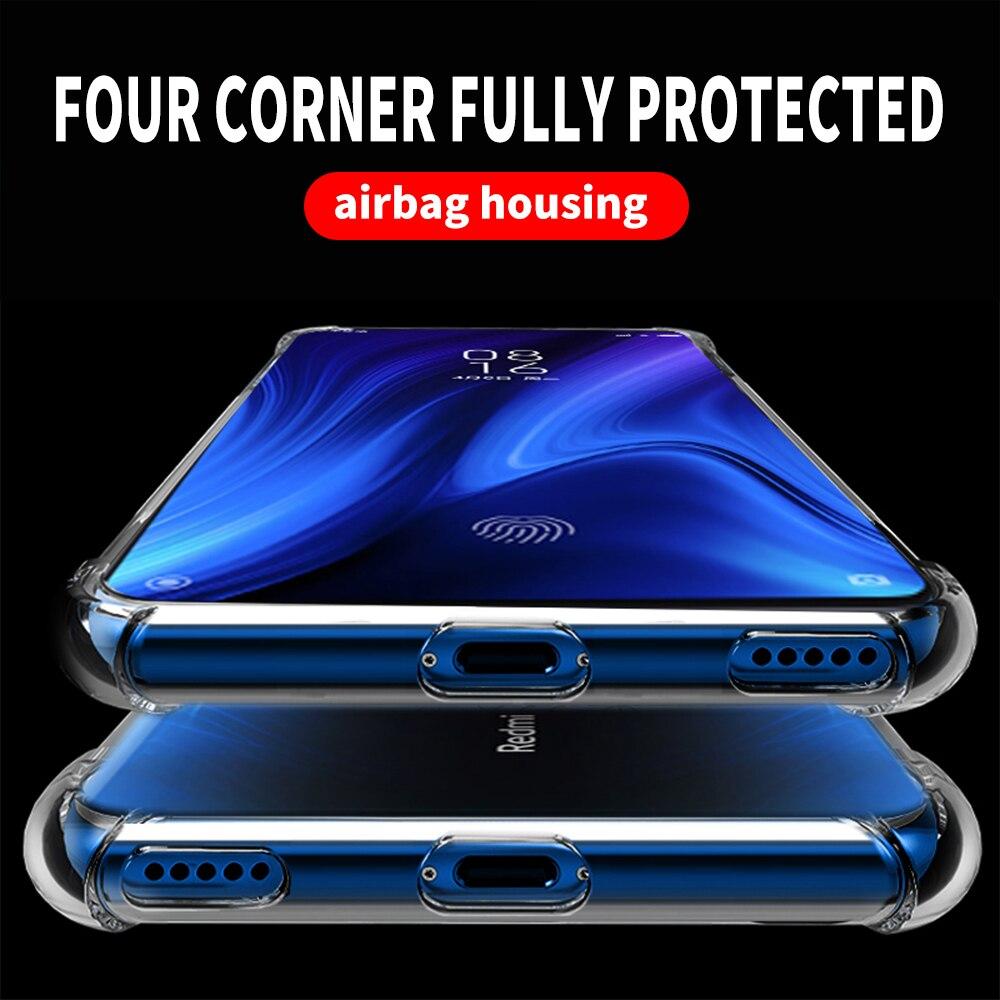 Transparent Silicone Case For Xiaomi Mi 9T Mi9t Mi9 T Pro Redmi K20 K 20 Pro TPU Case Air Bag Anti Proof Soft Coque Full Protect