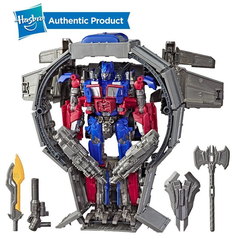 Hasbro Transformers Toys Robot Studio Series 44 Leader Class Transformers Dark of the Moon movie Optimus Prime Action Figure