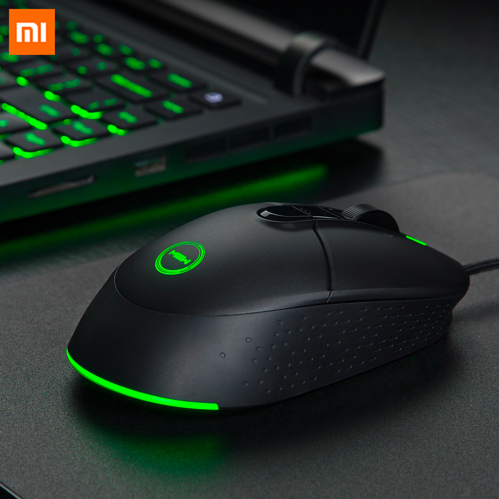 Xiaomi Miiiw 700G USB Wired Gaming Mouse 6 Programmable Buttons 7200DPI Colorful RGB Backlit Computer Gamer Gaming Mouse