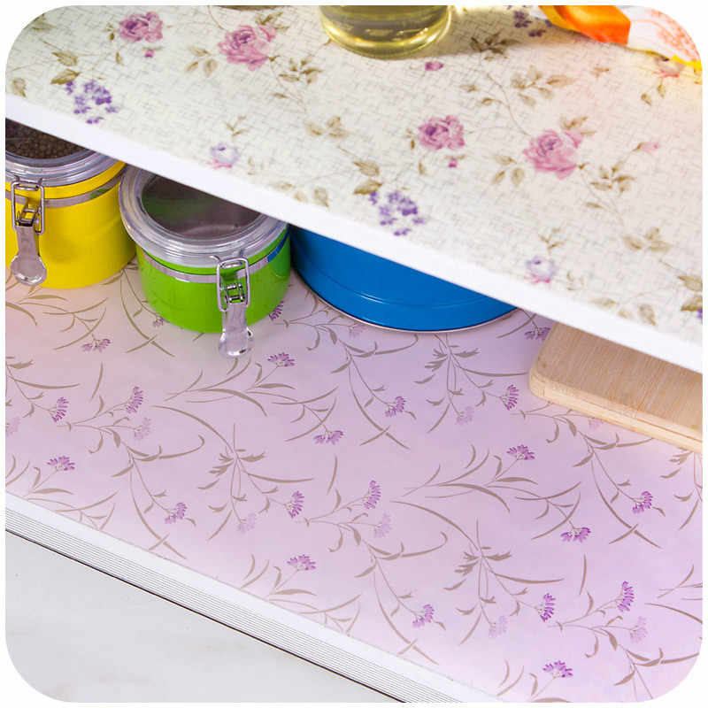 500 45cm Mildewproof Drawer Liners With Adhesive Paper Shoe