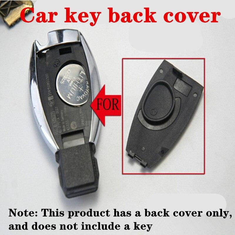 Car Badge Rear Cover Key Shell For Mercedes Benz Apple Tree May Bach AMG BRABUS CLA/GLA/GLC/GLE W204 W212 W220 W205 Key Cover