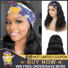 Beyo Body Wave Human Hair Wig Brazilian Headband Wig 10\