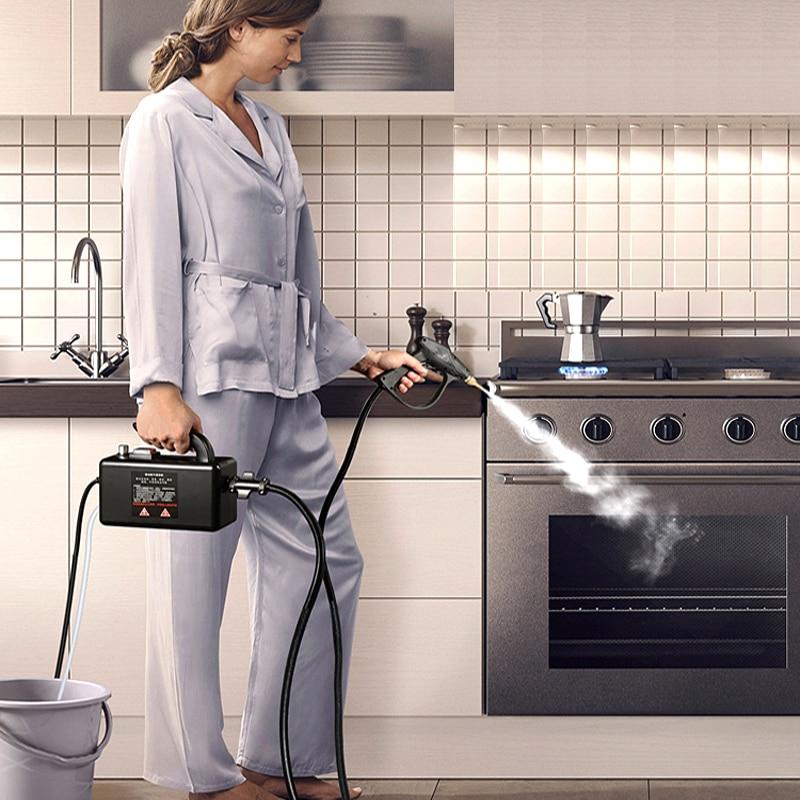 High Pressure Steam Cleaner Steam Cleaning Machine Air Conditioner Kitchen High Temperature Disinfection Anti Flu Coronavirus 1