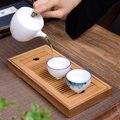 1 шт.  бамбуковый маленький чайный поднос  дренажный чайный набор для хранения воды  китайский чайный набор для культуры  чайный набор  подно...