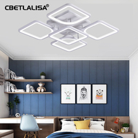 CBETLALISA.Led Chandelier for living room. the bedroom. the kitchen. modern ceiling chandelier. ceiling lamp. with remote control crystal chandelier.