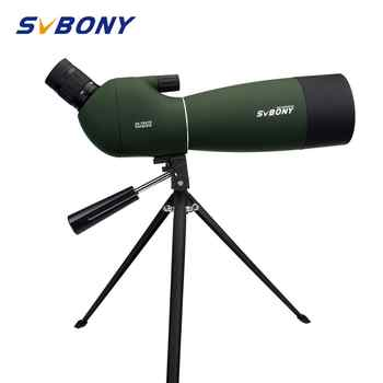 SVBONY 25-75x70mm Spotting Scope SV28 Telescope Continuous Zoom BK7 Prism MC Lens Waterproof Hunting Monocular +Tripod F9308B - DISCOUNT ITEM  41% OFF All Category