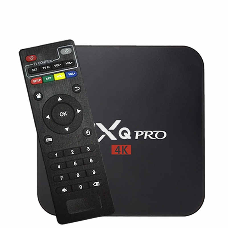2020 Mxq Pro 4K Android Tv Box 7.1 RK3228 Amlogic S905W 2G16G Hd 3D 2.4G Wifi Brasil Google spelen Youtub Media Speler Set-Top Box