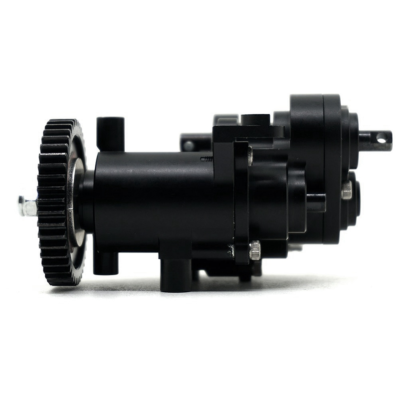 Couvercle de Transmission noir Transmission pour Trx4 T4 1/10 RC chenille TRX4 boîte de vitesses noire Transmission/centrale pour 1:10 RC chenille
