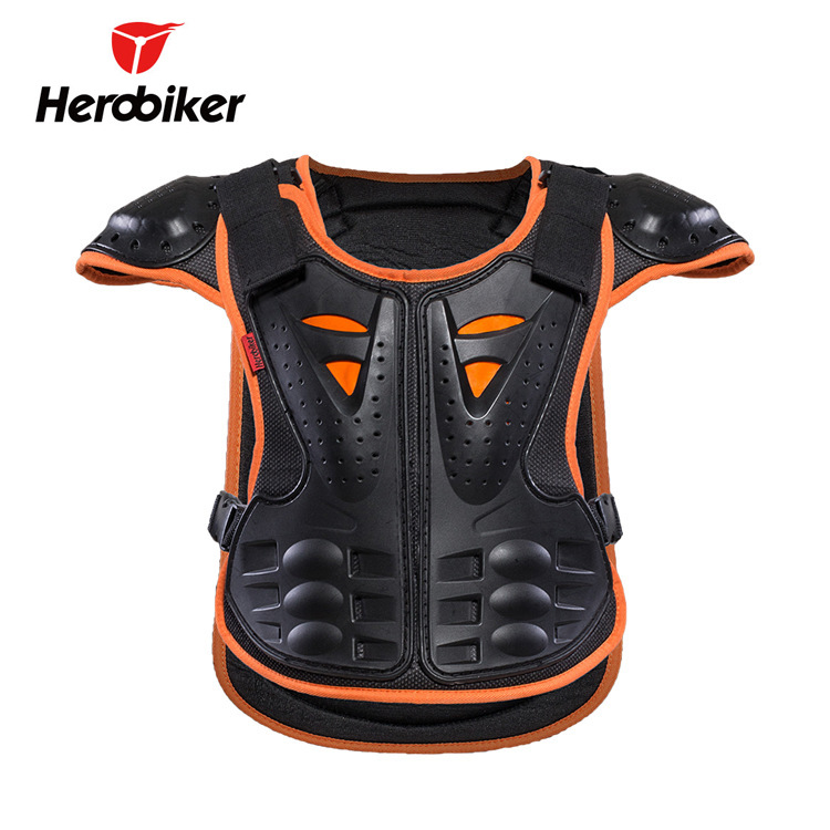 Herobiker Children Back Protector Chest Protector Protection Spine Sport Ware Roller Skating Skiing Limit Sports Protection Prot
