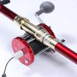 M9000R pełne metalowe koło wizualne kotwica wędka zmodyfikowane koło bębna lokalizator ryb koło wędkarskie