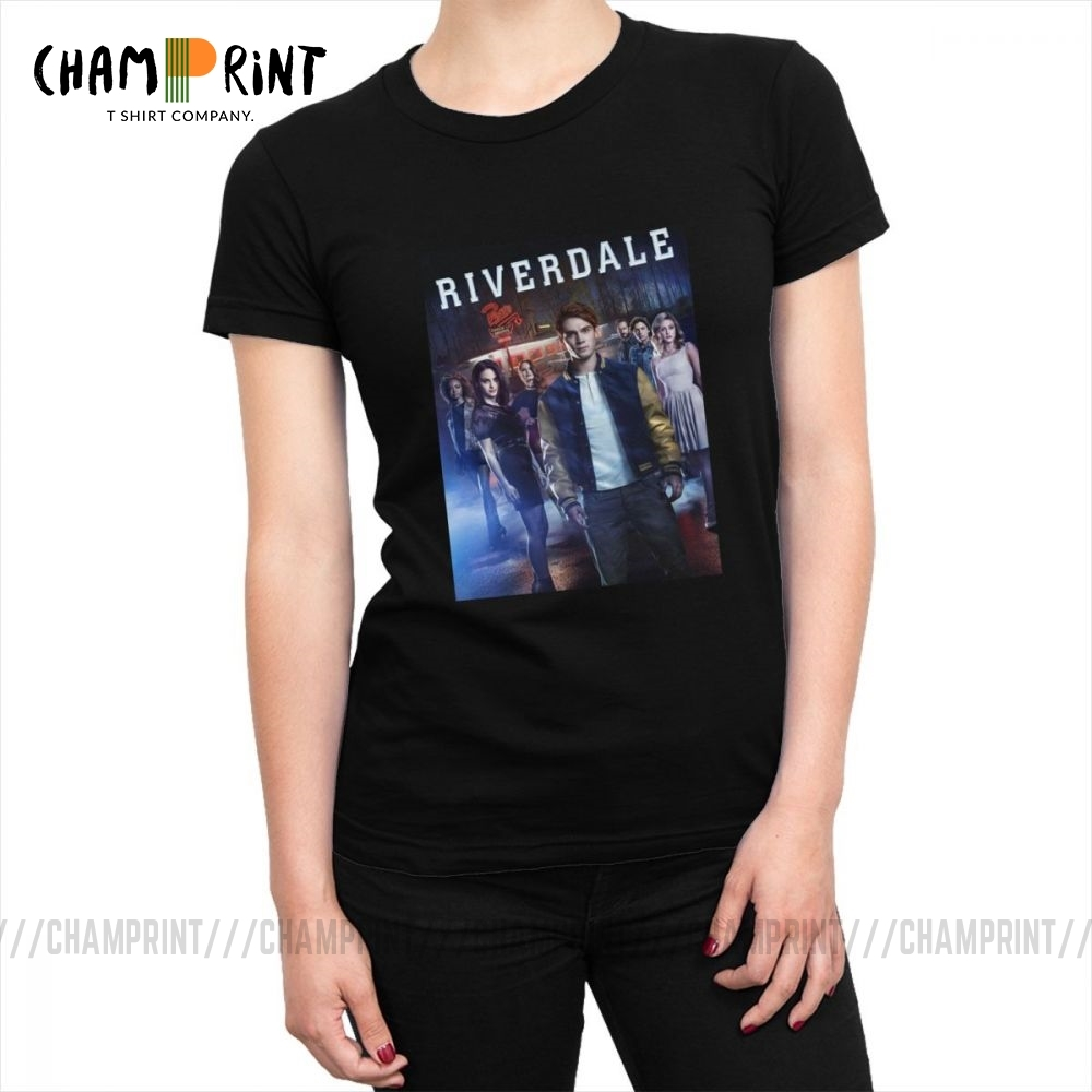Riverdale T Shirts TV Series Poster Jughead Women T-shirt Cotton Funny Tee Shirt Tops Printed Graphic Clothes For Female