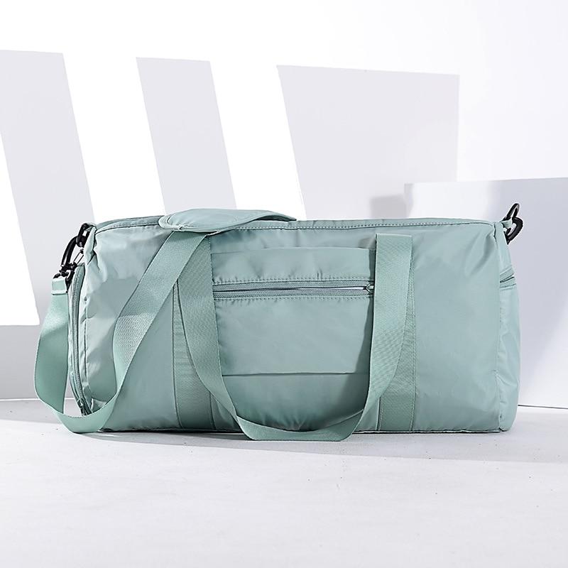 Gym Bags Men Sports Fitness Pack Shoulder Sport Bag Women's Handbags Male Travel Bags Dry Wet Waterproof Handbag Female