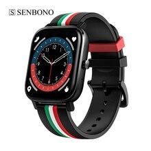 SENBONO MT2 BT Call Smart Watch lettore musicale impermeabile 4G ROM Smartwatch Call Fitness Tracker registrazione per uomo donna