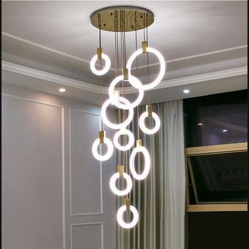 Modern led light living room fixtures stair lighting kitchen luminary fairy lights pendant lamp bedroom led lights decoration